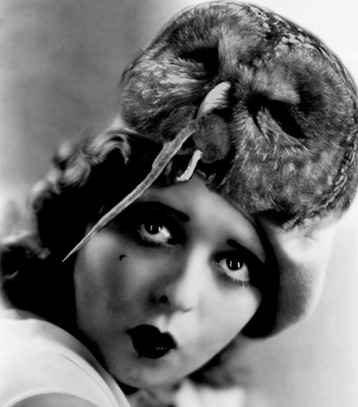 Clara Bow Owl Hat